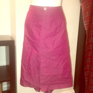 a6f6492b0e9 Ashley Stewart Plus Size Purple Skirt! 24!